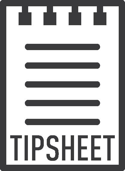 Tipsheet-Icon